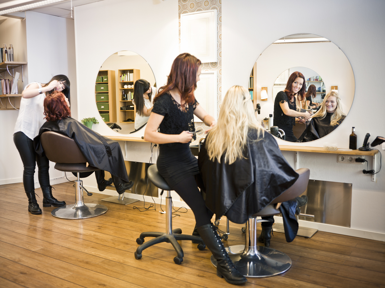 Aide financière salons de coiffure